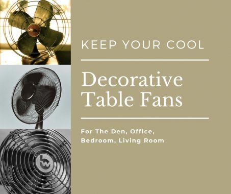 Decorative Table Fans