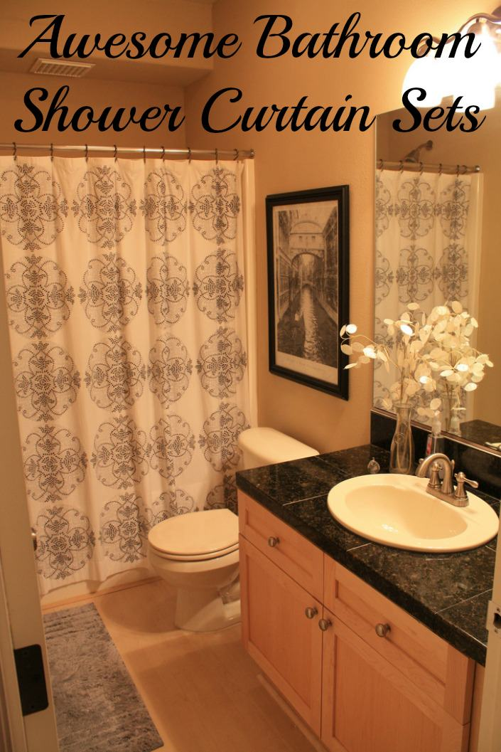 Awesome Shower Curtain Sets