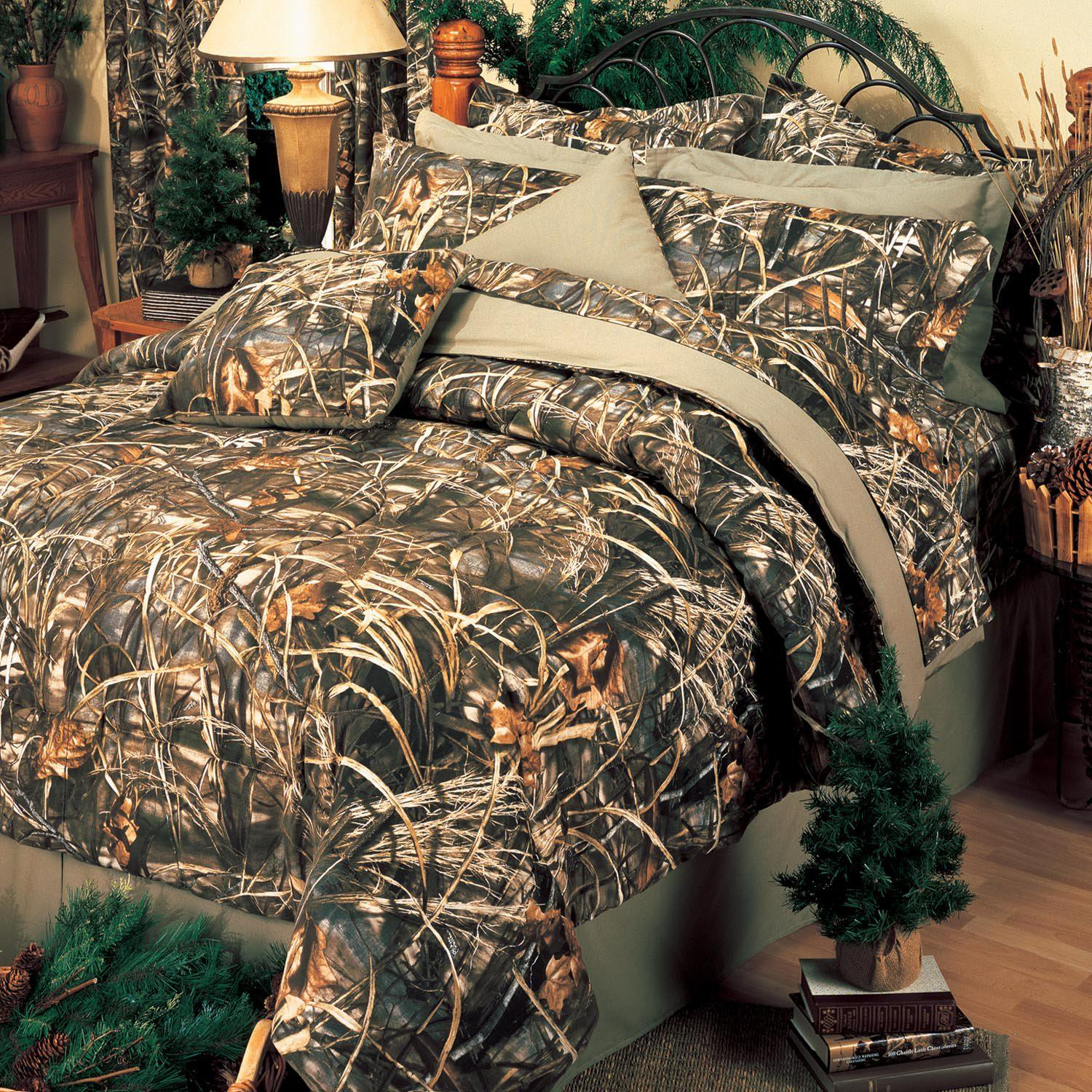 Camouflage bedroom decor for Camo bedroom designs