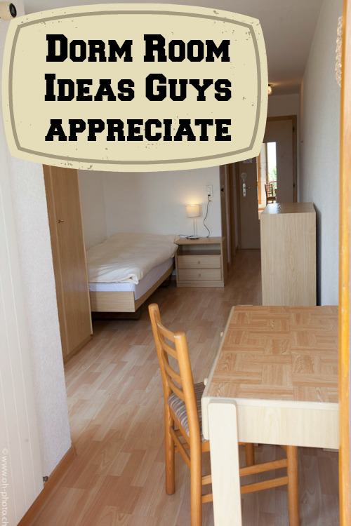 College Dorm Room Ideas Guys Will Appreciate