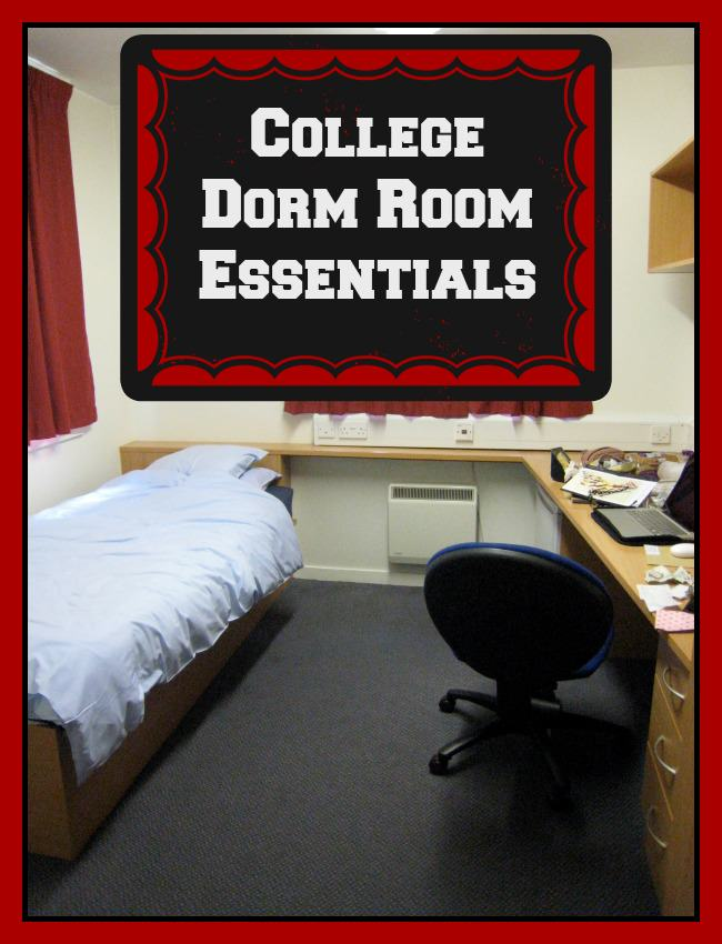 Red bathroom decorating ideas - Must Have College Dorm Room Essentials You Don T Want To