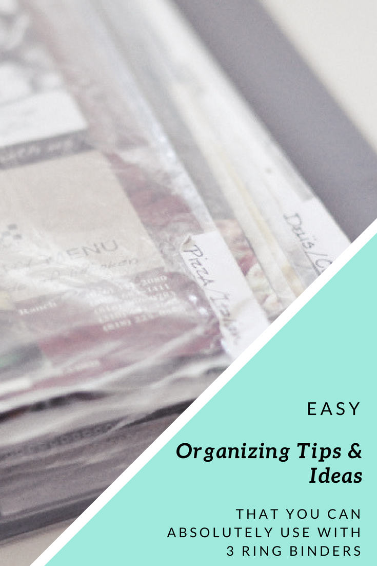 Organizing Tips Ideas