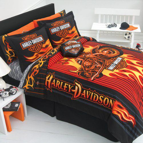 Harley Davidson Bedroom Decor