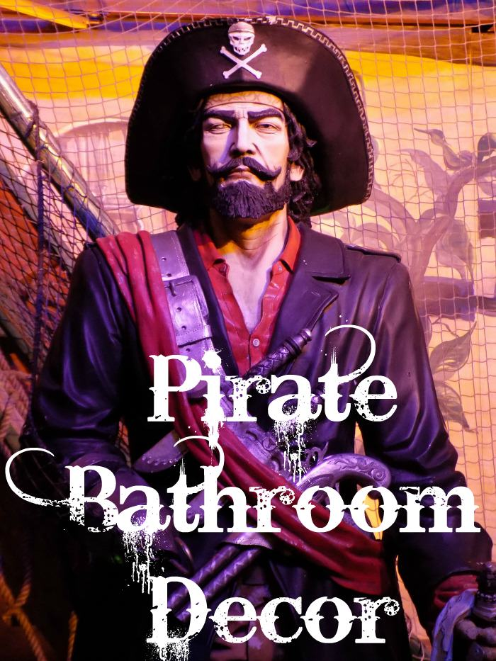 pirate bathroom decor
