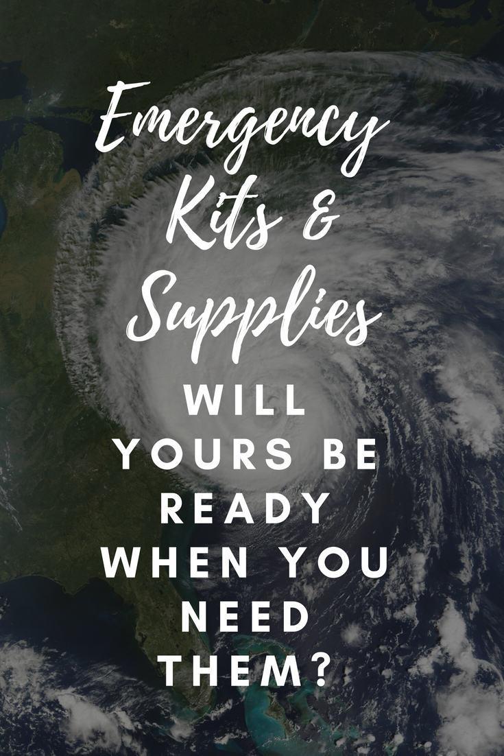 Emergency Kits Supplies