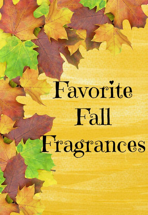 Favorite Fall Fragrances