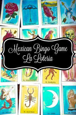 Mexican Bingo Game - La Loteria