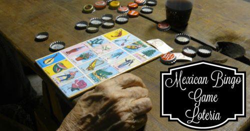 Mexican Bingo Game Loteria