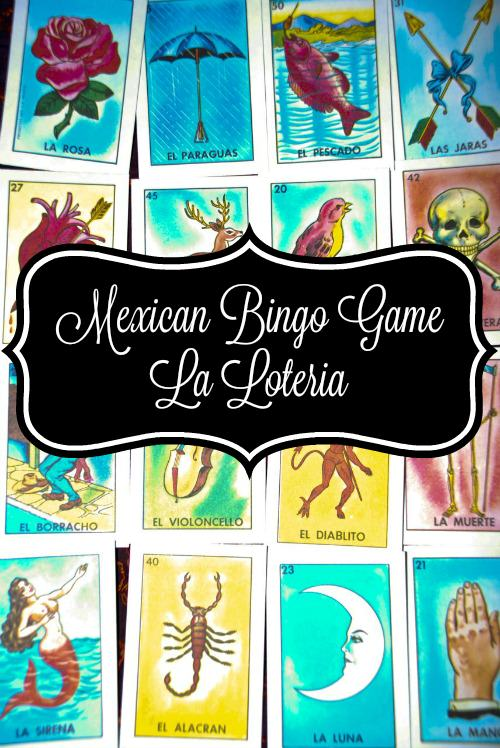 Mexican Bingo Game - La Loteria