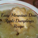 Mountain Dew Apple Dumplings Recipe
