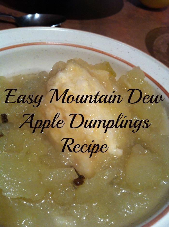 Easy Mountain Dew Apple Dumplings Recipe Home Sweet Decor
