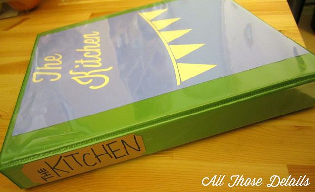 Kitchen Notebook