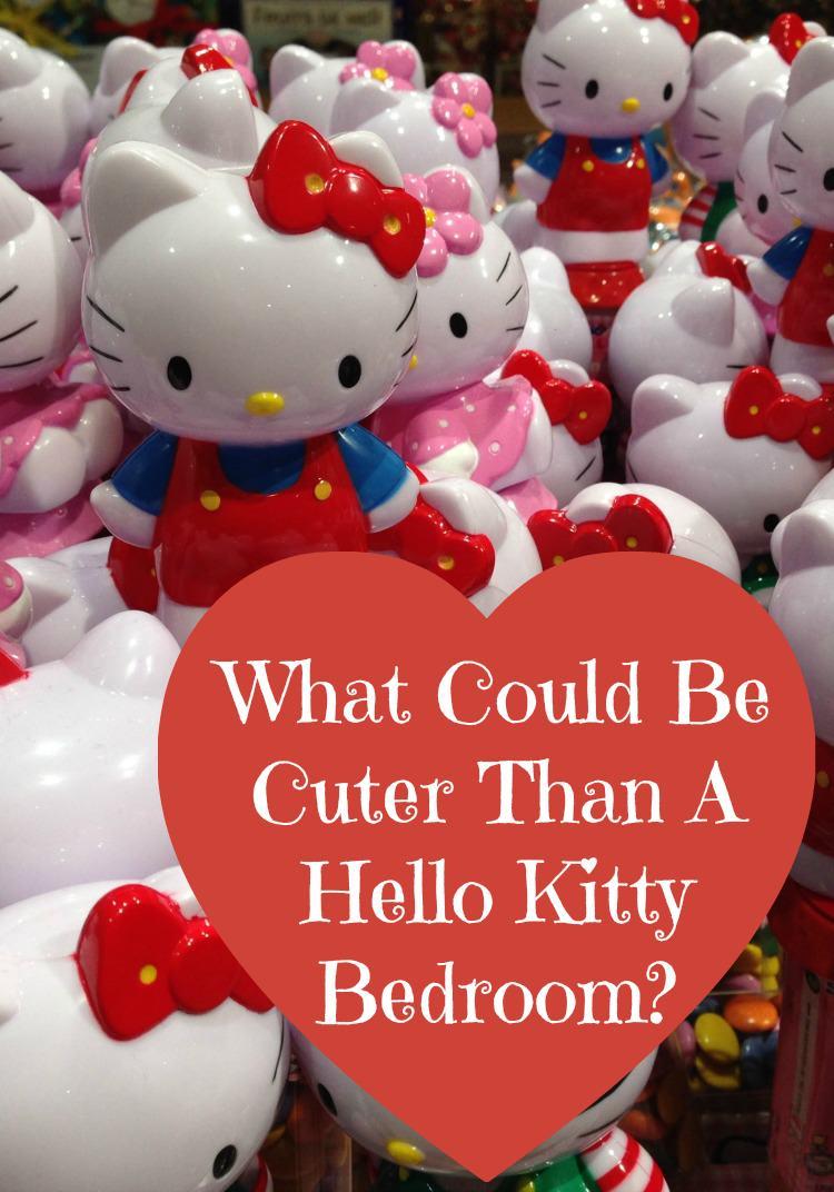 Hello Kitty Bedroom