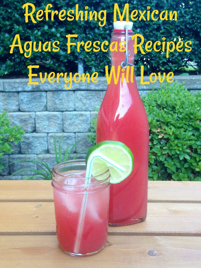 Mexican Aguas Frescas Recipes