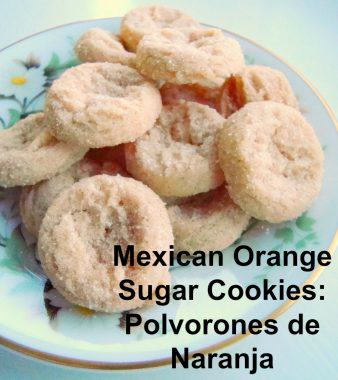 Mexican Orange Sugar Cookies