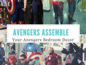Avengers Bedroom Decor