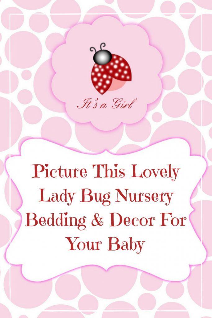 Lady Bug Nursery Bedding
