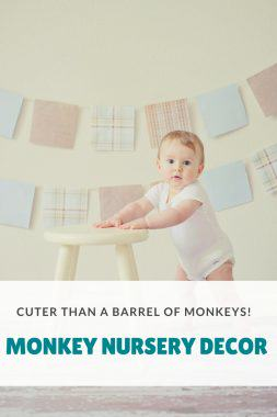 Monkey Nursery Decor