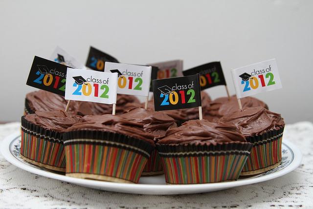 Year Graduation Cupcakes