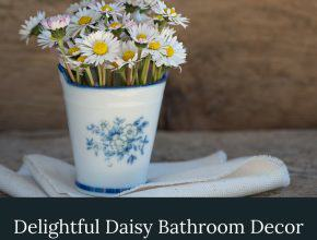 Daisy Bathroom Decor