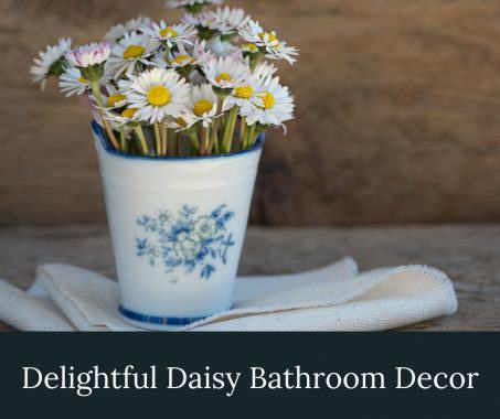 Daisy Bathroom Decor