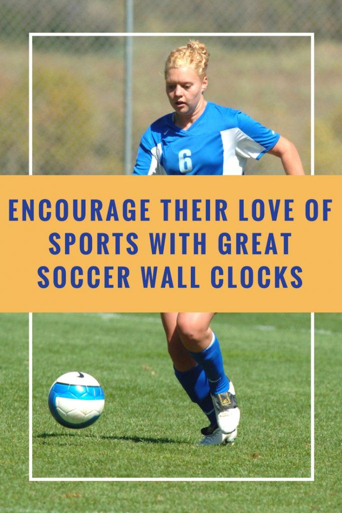 Soccer Wall Clocks