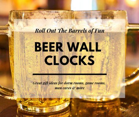 Beer Wall Clock
