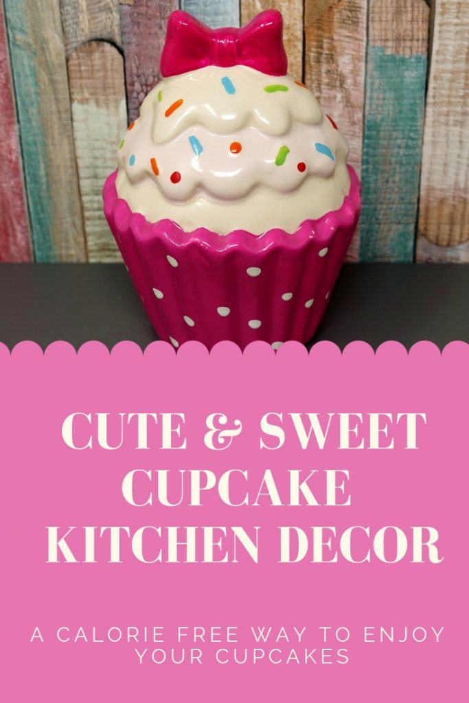 What A Sweet Way To Start Your Day With Cheery Cupcake Kitchen Decor