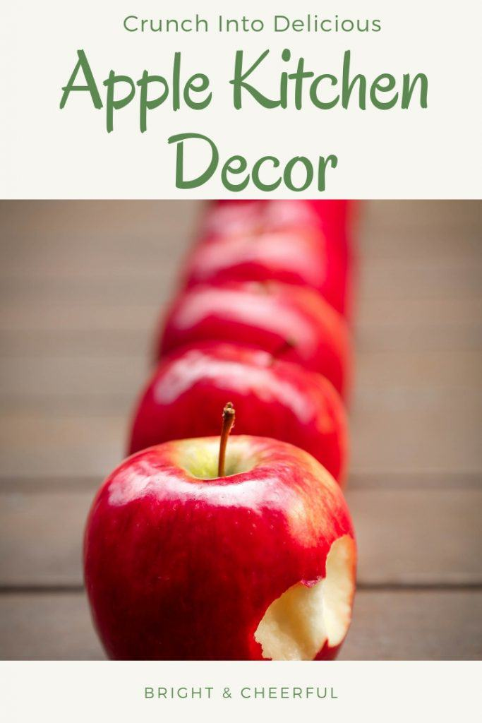 Crunch Into A Delicious Red Apple Kitchen Decor Home Sweet Decor