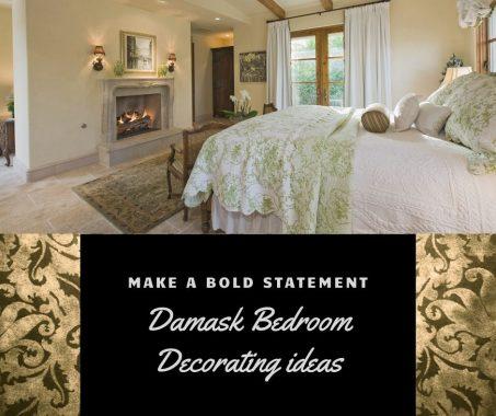 Damask Bedroom Decorating Ideas